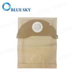 Коричневый бумажная пыль собирают мешок фильтра для Karcher A2000, A2099, Wd2.000, Wd2399 Пылесос