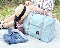 Form-Arbeitsweg-Speicher-kleidet das faltende Laufkatze-Gepäck-Schulter-Einkaufen Fertigstellungs-Speicher-Gepäck-Beutel
