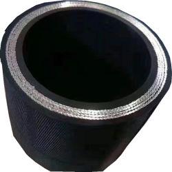 Groothandel Industriële Rubber slangen stalen gevlochten versterkte flexibele olie Aanzuiging industriële hogedrukdraad hydraulische aangepaste rubberen slang