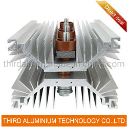 Das kundenspezifische Aufbereiten Aluminium Druckguss-Kühler