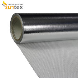 D'Aluminium de chiffon isolant en fibre de verre