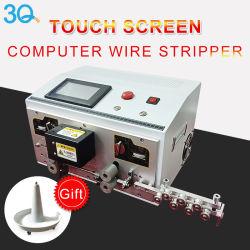 El 3t la pantalla táctil multi-core automático Pelacables equipo eléctrico y corte de la máquina Crimpping despojador con canales duales