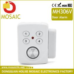 Verre Veiligheid van het Venster van de Sensor van de Deur van de Veiligheid van het Huis van het Alarm van het Blind van het Venster van de Deur van de Schakelaar van de Sensor van de deur de Draadloze Magnetische Anti-diefstal
