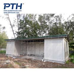 Contenedor Bar/Restaurante/Oficina / Flat Pack Casas contenedor portátil de la casa de la unidad de vivienda