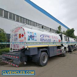 Shacman 6 Wheels 12000L Fuel Tank Truck Fueling Trucks Leverancier