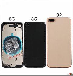 100% Vorlagen-Abwechslungs-Gehäuse für iPhone 8 maximale hintere Glas-Rückseiten-Batterie-Deckel-Fall Smartphone Plusanzeigetafel