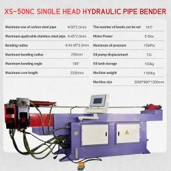 Cader Venda Quente Sb-50nc Pressão Hidráulica única Cabeça Nc do tubo de controle do tubo e máquinas de dobragem