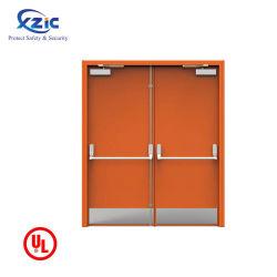 Emergency MetallUi Feuer-Beweis-Hitzebeständigkeit-Stahl-Tür beenden