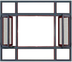 G&C Fuson Aluminiumprofil-Flügelfenster-Fenster