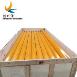 قضبان بلاستيكية صفراء عالية الكثافة (HDPE)، قضبان بيضاء عالية الكثافة (HDPE) مخزون قضبان دائرية من البولي إيثيلين/قضبان بلاستيكية/أنابيب