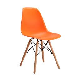 مقهى مريح جانبى بسيط مصنوع من الخشب الفلطبى والبلاستيك حديث بالخارج كرسي أثاث غرفة المعيشة المنزلية