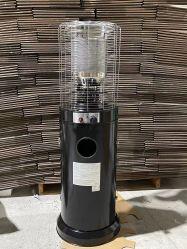 Linka acier inoxydable noir patio salon en plein air de chauffage à gaz avec la CE