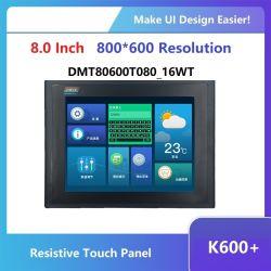 DWIN 12.1-inch TFT LCD-display Smart HMI met een resolutie van 800*600 Raak paneel aan