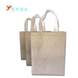 ラミネーションの非編まれた袋を包む生態学的なショッピングギフト