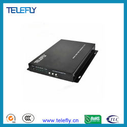 Transmisor y receptor de fibra óptica1 Canales VGA, 1 canales de audio estéreo, 1 canales de transmisión de fibra óptica de RS232