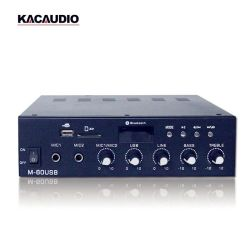 OEM/ODM 60W 파워 앰프 사운드 표준 M-60USB 미니 앰프