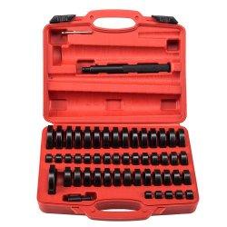 52pcs el buje de la junta de cojinete de empuje del controlador de disco de prensa conjunto de herramientas