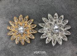 2020 de de Nieuwe Diamant van de Manier van het Kledingstuk van de Kleding & Broche Vgr2395 van de Parel