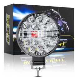 Nuovo modello Dxz LED 22SMD 66 W con luce spot lampeggiante Luce di lavoro a LED Angel Eye DRL per luci di ingombro per veicoli