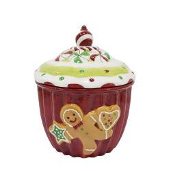Keramische Cookie Jar Keukengerei Keramiek Jar Kerst keramische Jar