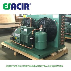 Bitzer водяного охлаждения холодильной системы охлаждения воздуха без конденсации холодильной установки блока управления