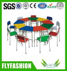Настраиваемые ребенка дети в дневное время детей стол и стул, детского сада и дошкольных учреждений мебель для дошкольных классах используется