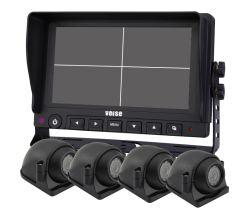 1080P DVR para cuatro monitores de apoyo del sistema de cámara Four-Channels 1080P/960p/720p/señal CVBS Entrada mixta