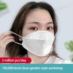 처분할 수 있는 인공호흡기 가면 제조자 2020 새로운 디자인 세륨 Tga Mdel를 가진 4개의 층 먼지 가면
