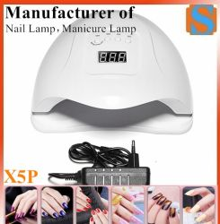 X5 Plus 네일 드라이어 LCD 디스플레이 36 LED 드라이어 네일 젤 폴란드어 감지 램프를 경화하기 위한 램프 UV LED 램프 손톱용