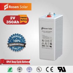 Batería recargable 2V 350Ah batería Batería UPS Opzv Banco para los proyectos