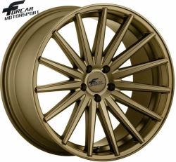 Las llantas de aluminio ruedas coche réplica de la rueda de aleación de 19 de la parte trasera de las ruedas delanteras