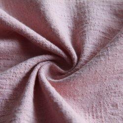 Qualité jersey fin doux en coton/95%5%spandex en étoffe de bonneterie pour T-shirt en tricot/Gymwear/chemise