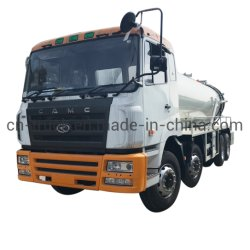 Rhd le CCEA 18m3 20m3 20m3 Tank Truck des eaux usées Les eaux usées de fosse septique camion vide