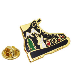 Vendita All'Ingrosso Custom Christmas Tree Lapel Pin