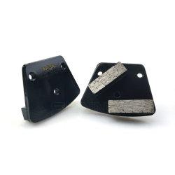 Трапецеидальный алмазные инструменты для конкретных диск с отверстиями пластины
