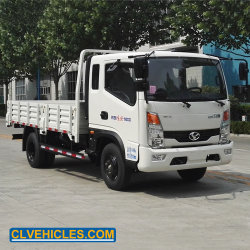 6 Tonnen-Kapazitäts-hydraulischer mittlerer anhebender Speicherauszug-Feuergebührenlastkraftwagen mit Kippvorrichtung
