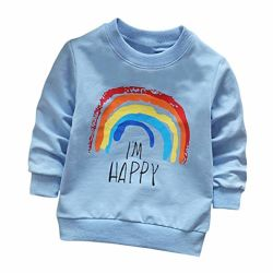 Toddler Baby Sweat-shirt pull-over T-Shirt Tops Vêtements