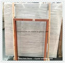 По-французски Кристально белый мрамор из дерева для блоков и плитки