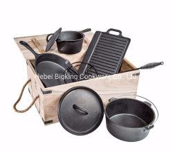 Portable utensilios de cocina utensilios de cocina utensilios de cocina 7pcs Camping Mayorista de equipo de cocina