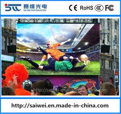 P4.81 SMD de l'écran à affichage LED de location de plein air avec armoires en aluminium