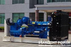 1600kw elektrischer Perkins Motor-Dieselenergie u. Generierung-Sets angeschalten von Perkins Engine 4016tag2a