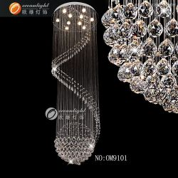 Современная хрустальная люстра лампа наружного освещения для дома декоративные (OM021)