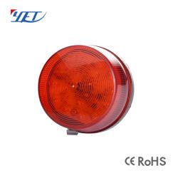 Sin embargo615 sirena exterior inalámbrica Luz estroboscópica LED de alarma de seguridad del hogar de la luz de flash