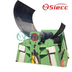 중국 공급자 4 롤러 금속을%s 유압 금속 격판덮개 구부리는 롤 기계