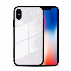 vidrio templado personalizada Celular tapa móvil teléfono duro caso para el iPhone x