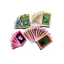 관례는 행복하게 트럼프패 공상 디자인 아이 Poket 게임 카드의 시기를 정한다