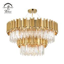 Hôtel de luxe grand lustre lustre lampe