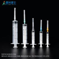 Instrumentos Médicos da seringa descartável para Bomba de Injeção (luer lock)