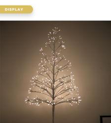 Indicatore luminoso esterno dell'albero illuminato LED delle decorazioni di natale