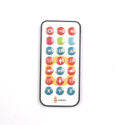 Venta caliente IR Universal personalizado Mini ultrafino 21/32 LED Claves de Control Remoto